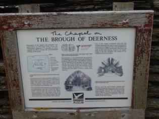Brough of Deerness - chapel Bell