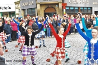 Highland dancers Wick Donaldson
