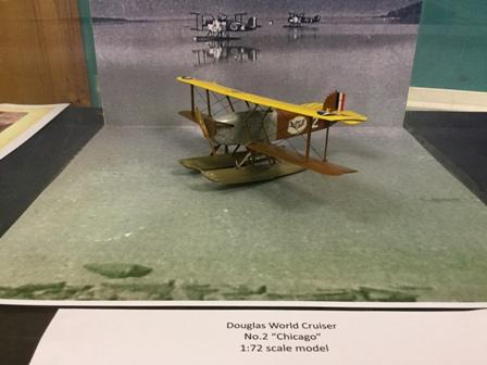 model of a Douglas World Cruiser