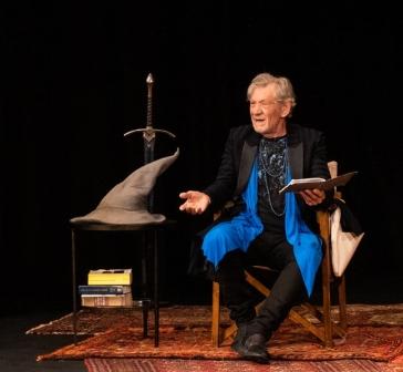 Ian McKellen photo Mike Robertson