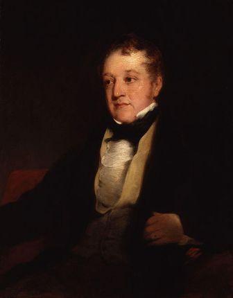 William Huskisson by Richard Rothwell