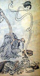 Hokusai_rokurokubi Yokai