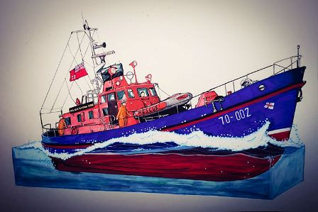 Sean Chambers Lifeboat Prints