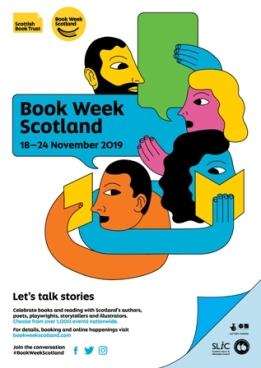 Book Week Scotland poster