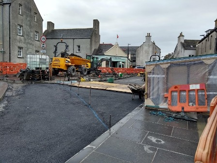 Broad Street archaeology Kirkwall