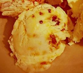 Honeycomb ice-cream