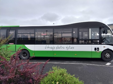 electric bus Orkney