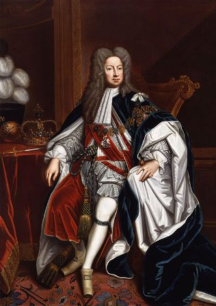 King George I by Sir Godfrey Kneller