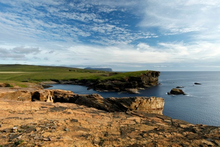 The coastline at Yesnaby, Mainland, Orkney
