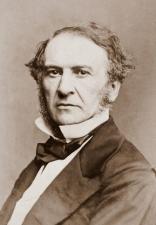 William Gladstone by Mayall, 1861