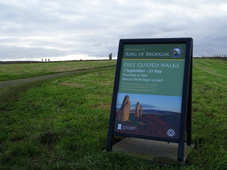 Ring of Brodgar free guided walks Bell