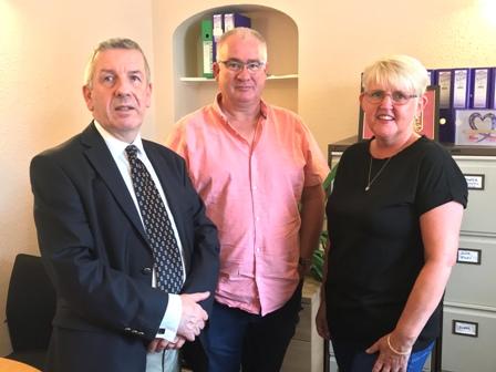David Stewart with Diane and Graham Matheson