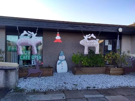 St Colms Christmas shop