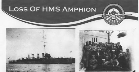 sinking of the Amphion WW1