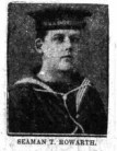 Tom Howarth from the Burnely News 14th of june 1916