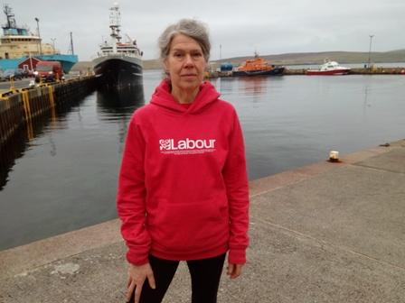 Coilla Drake Labour in  Lerwick