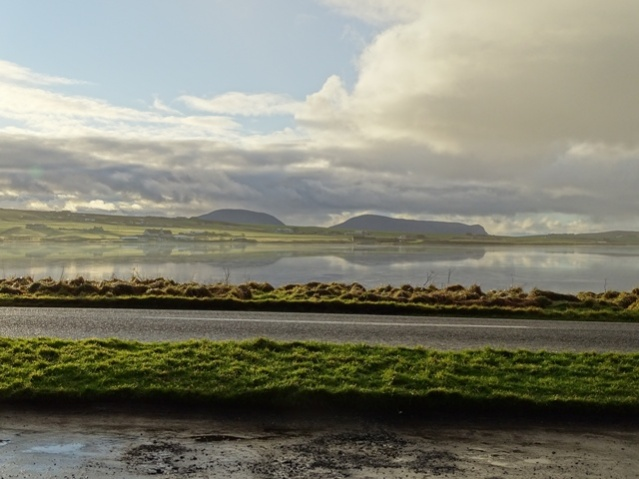 Stenness Loch and Hoy Hills