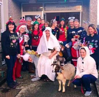 OCT Winners 2018 Christmas Jumper Day