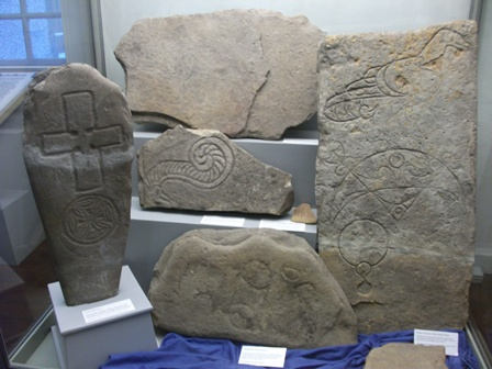 Picts stones Orkney museum