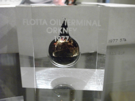 Flotta oil terminal 1977 Orkney museum Bell
