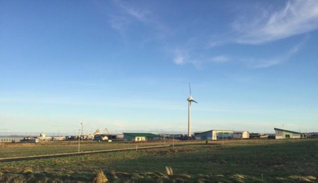 EU funding Hatston wind turbines