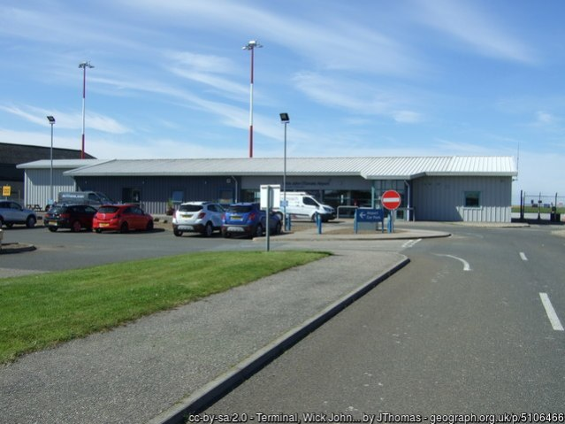 Wick airport by JThomas