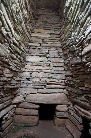Quoyness Tomb, Sanday. Credit: Antonia Thomas.