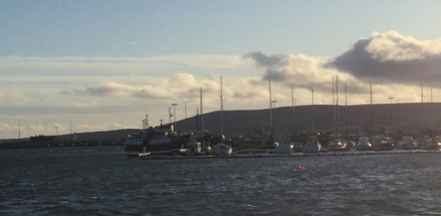 Stromness high tide