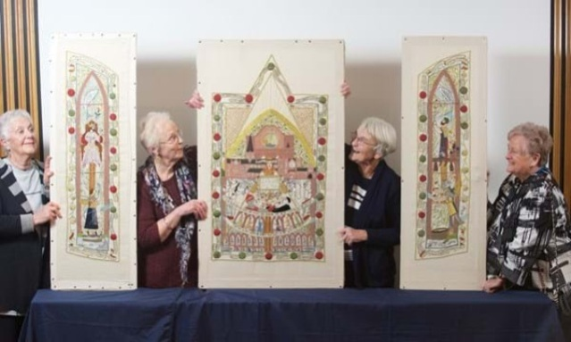 Declaration of Arbroath Tapestry HES