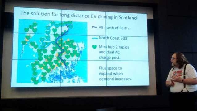 EV charging points in Scotland solution OREF Nick