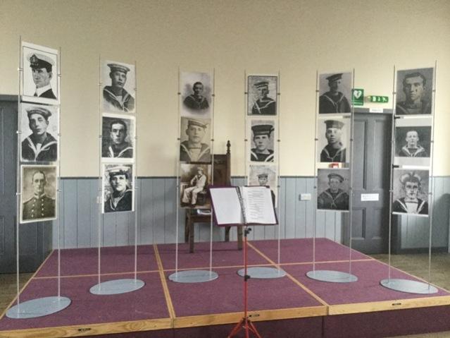 HMS Pheasant exhibition Hoy
