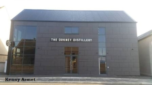 Orkney Distillery  front on
