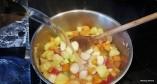 Radish & Mixed Veg Soup 7
