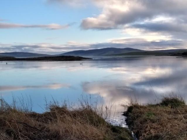 reflections Stenness Loch
