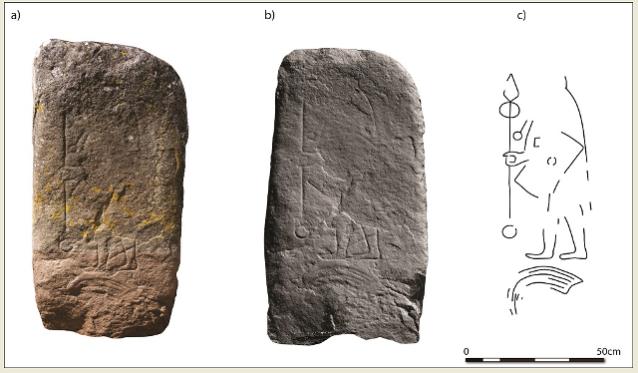 Rhynie Stone University of Aberdeen Picts