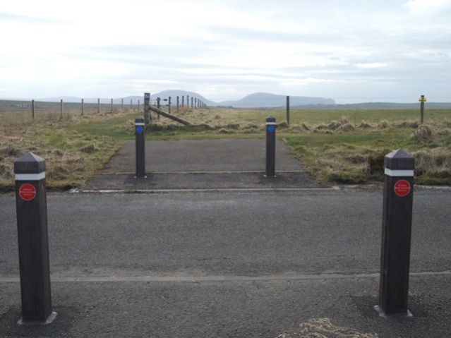Crossing point at Brodgar Bell