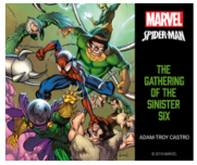 Spiderman The Gathering of the Sinister Six audiobook