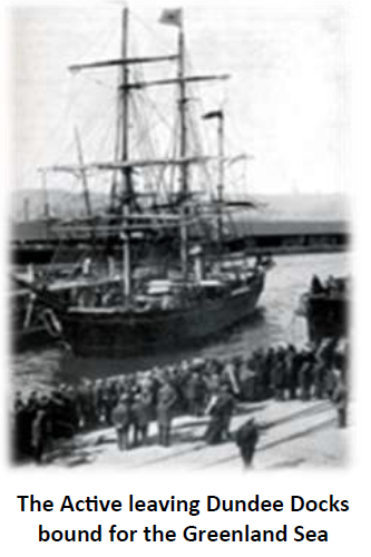 SS Active whaling vessel