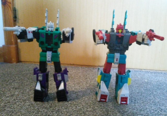Sixshot and Quickswitch Transformers