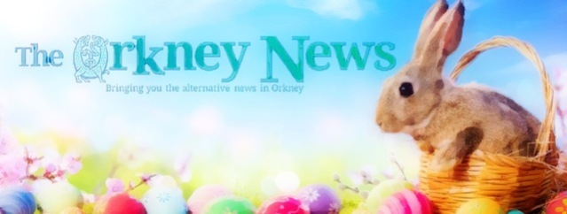 The Orkney News Easter rabbit