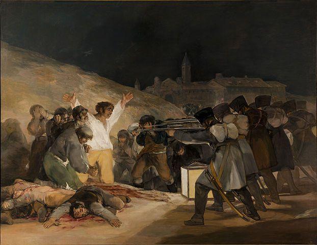 El Tres de Mayo, by Francisco de Goya
