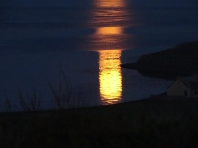 Moon reflections on water credit Mike Bell