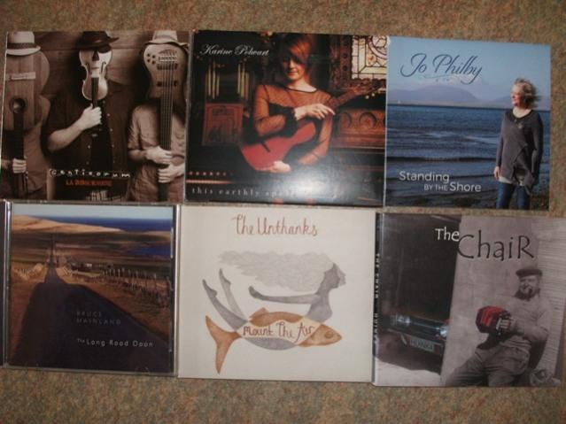 folk music CDs Bernie Bell