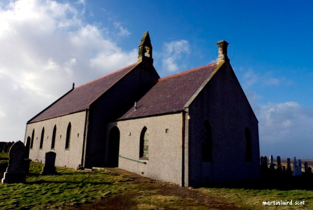 Stenness Kirk by Martin Laird