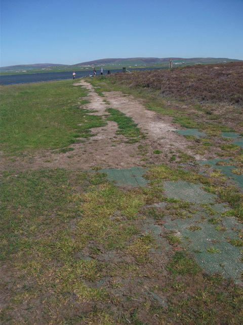 path at Brodgar May 2020 credit Bell