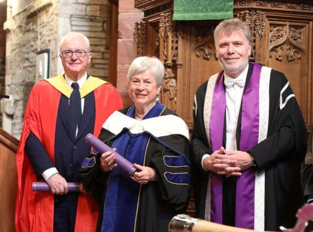 The Orkney College UHI Graduation ceremony at St. Magnus Cathedral, Kirkwall.