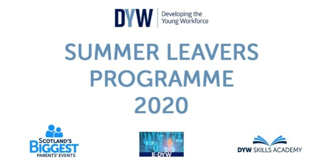 Summer Leavers Programme logo Developing the Young Workforce